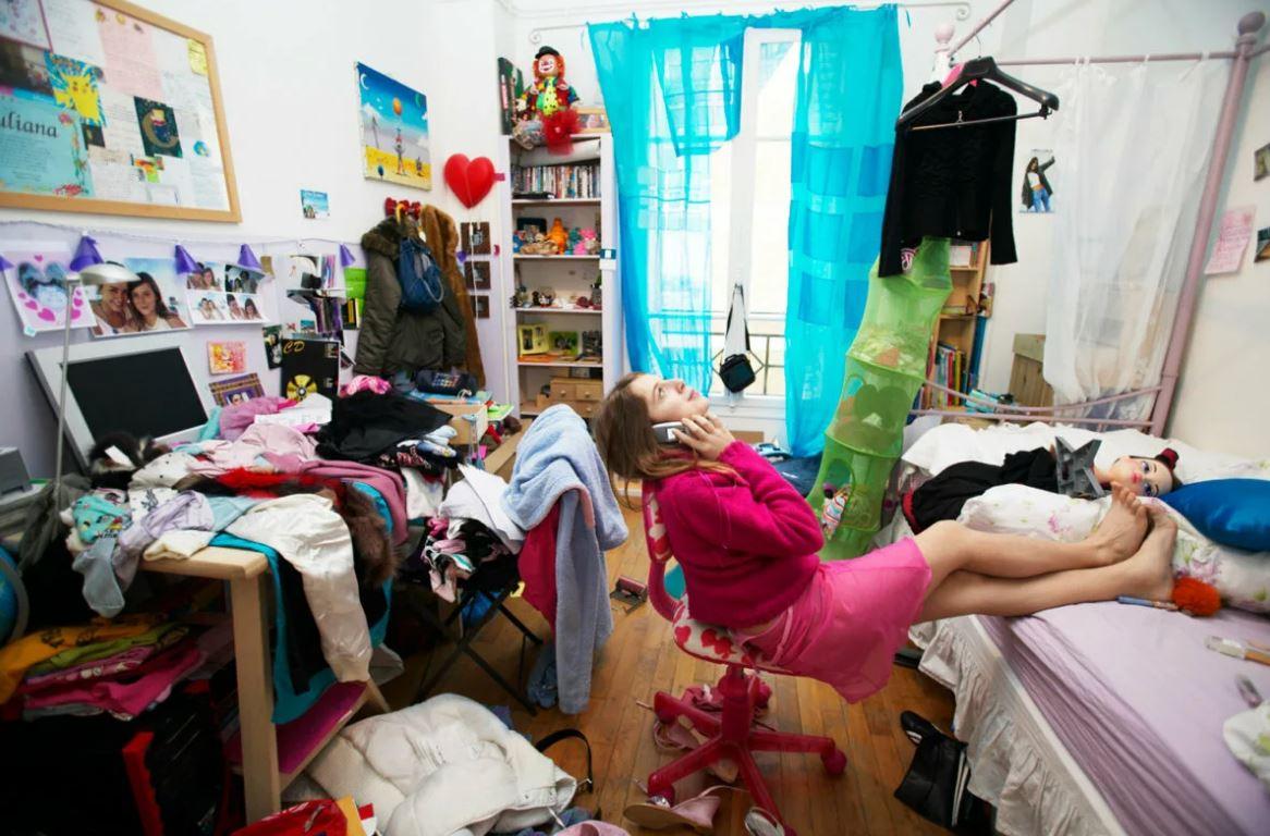 В квартире невообразимый бардак, а невестке не стыдно